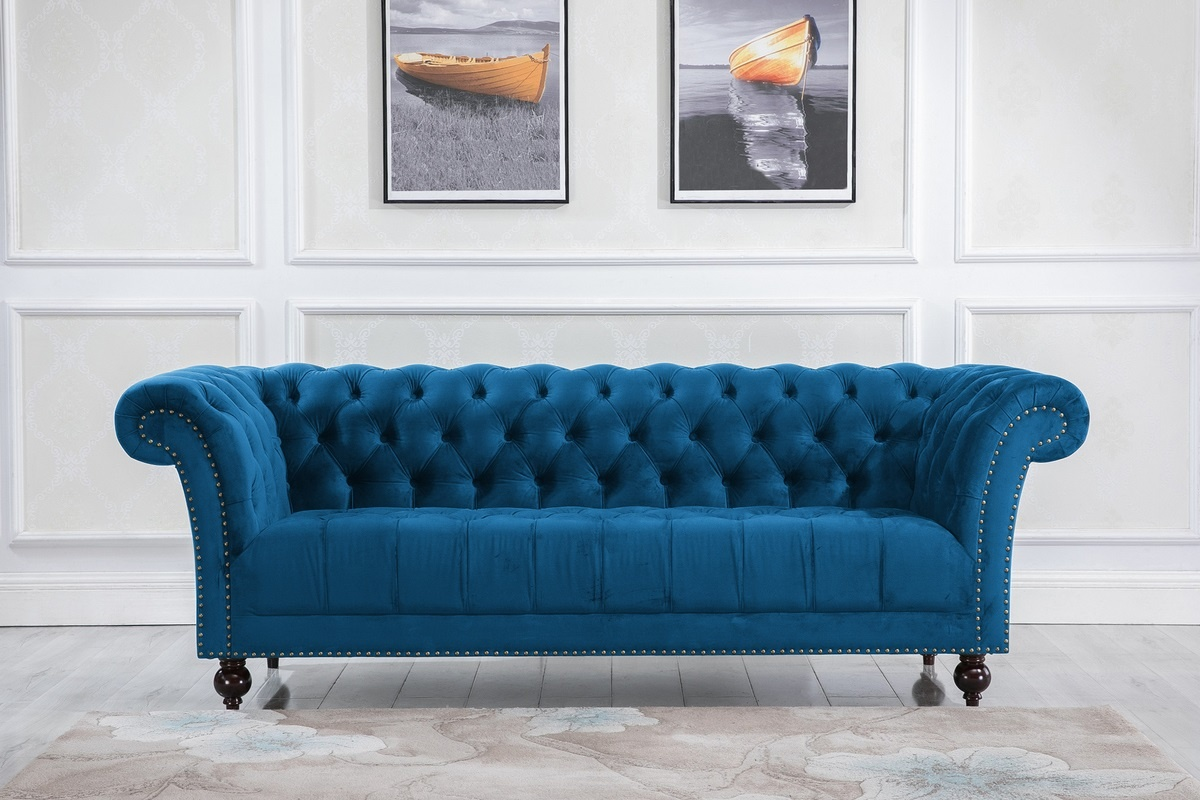 Chester 3 Seater Sofa - Blue