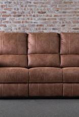 Sweet Dreams Wye Electric Reclining Sofa - Tan