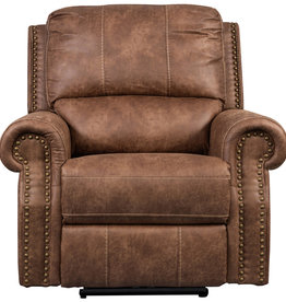 Sweet Dreams Wye Electric Reclining Sofa - Tan