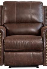Sweet Dreams Wye Electric Reclining Sofa - Chestnut
