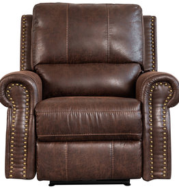 Sweet Dreams Wye Electric Reclining Sofa - Chestnut