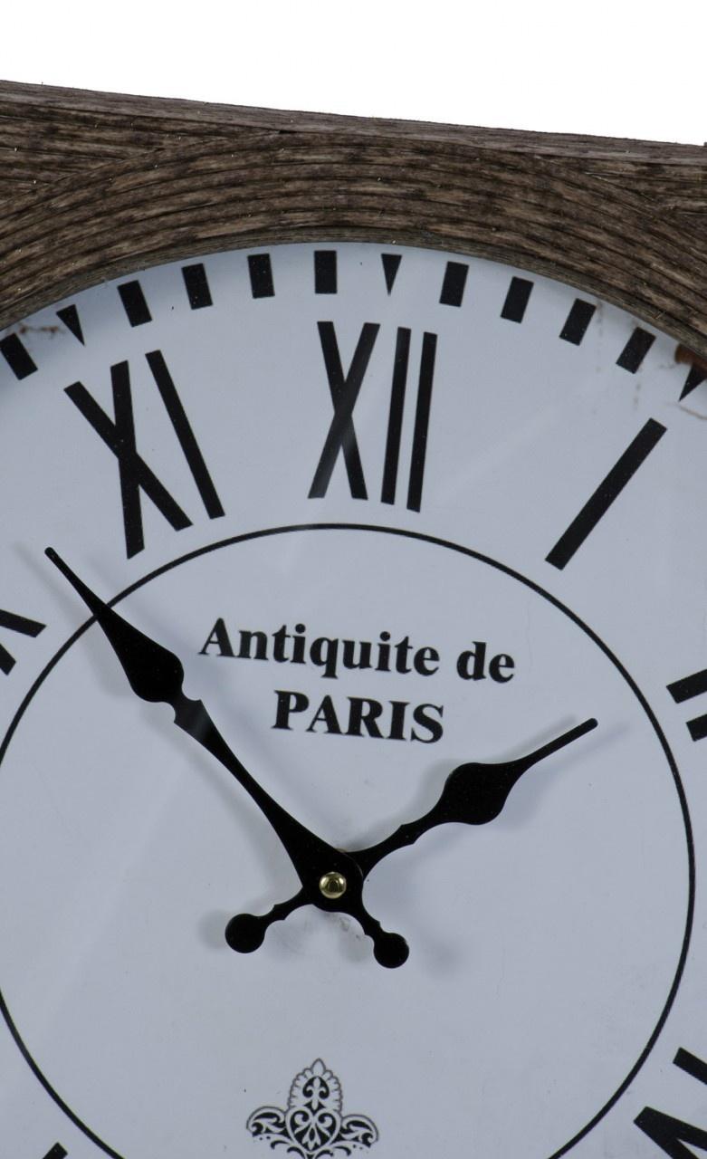 Reeded Square Clock