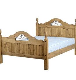 Corona Scroll Bed