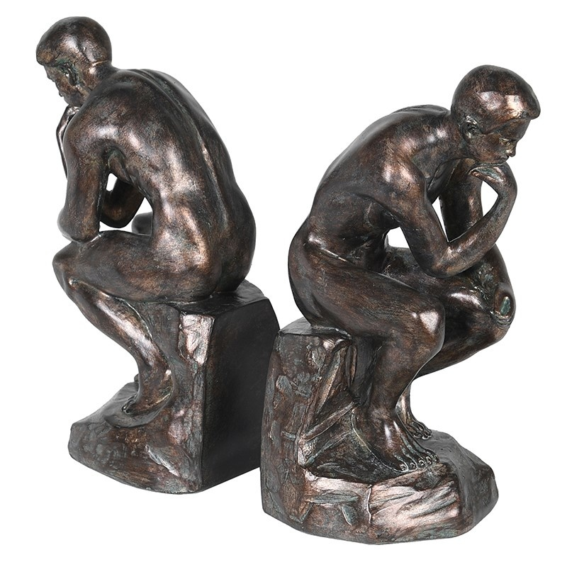 Pair 'Thinker' Bookends