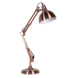 Copper Angled Desk Lamp