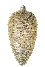 Large Gold Cone With Lights
