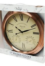 Vintage 15 Inch Clock