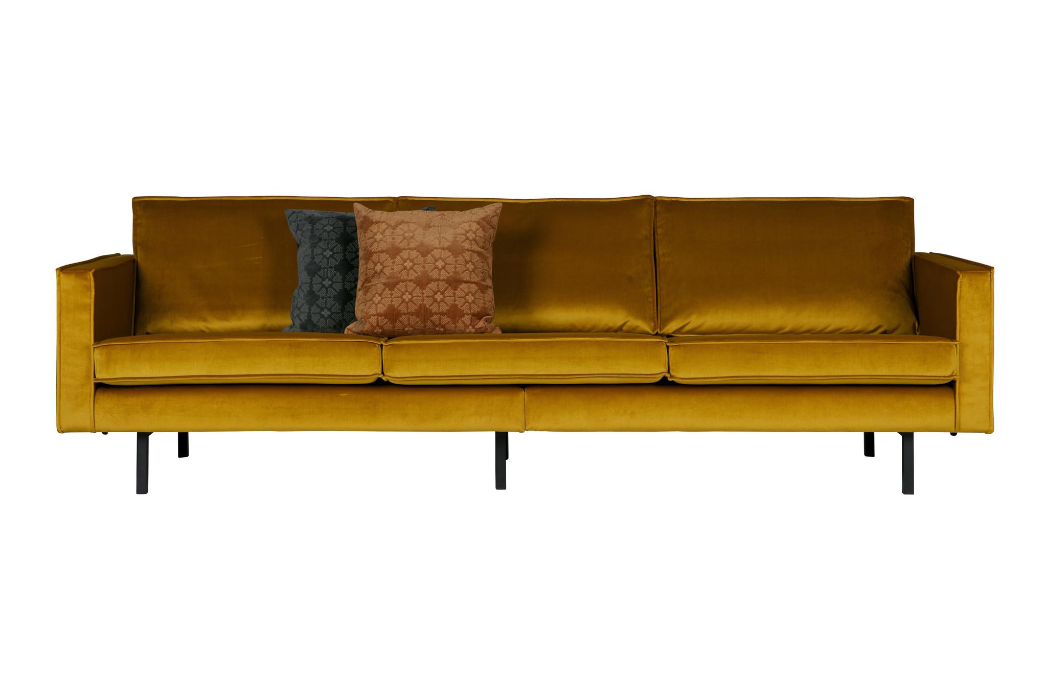 BePureHome Gossip Cushion Velvet Caramel