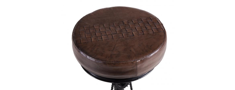 Besp-Oak Iron Bar Stool