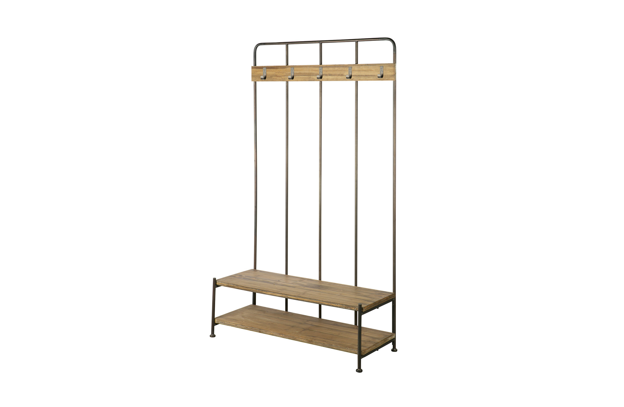 BePureHome Industrial Coat Rack