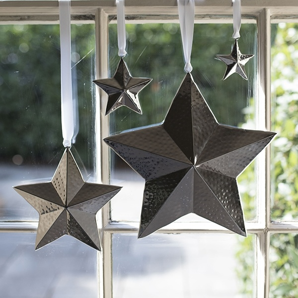 Culinary Concepts XS Star Hanging Decoration - Hammered Finish