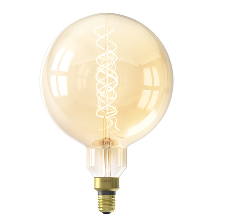 Calex LED Megaglobe Gold Lamp 4W 200LM 2100K Dimmable