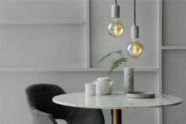 Calex LED Globe Lamp G125 4W 2100K Dimmable