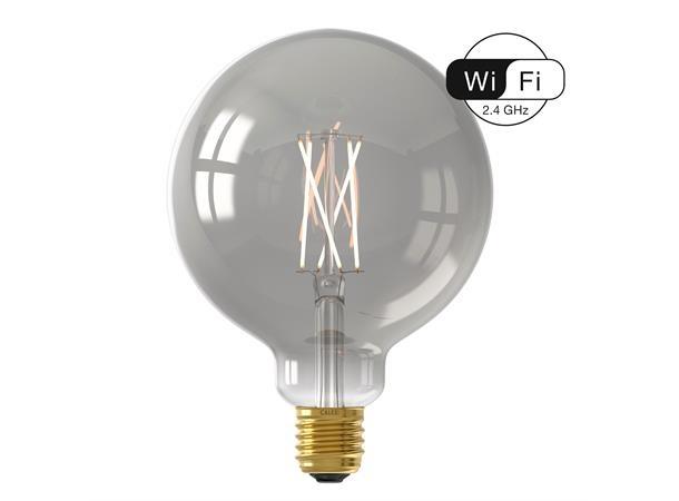 Calex Smart LED Globe Lamp G125 7W 1800-3000K WiFi