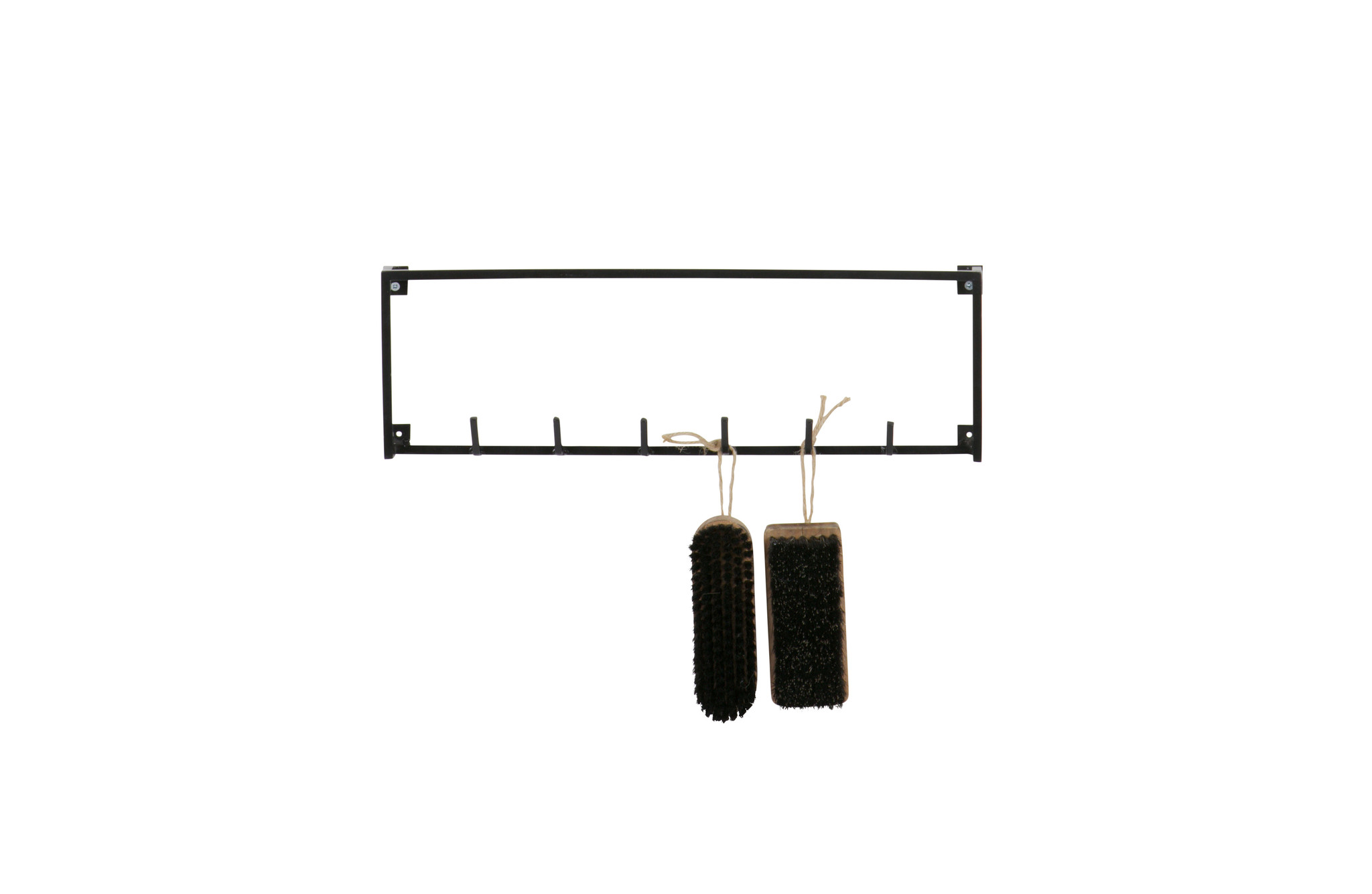 WOOOD Meert Coat Rack 6 Hooks Black