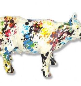 Paint Splash Cow Money Box - 28 cm