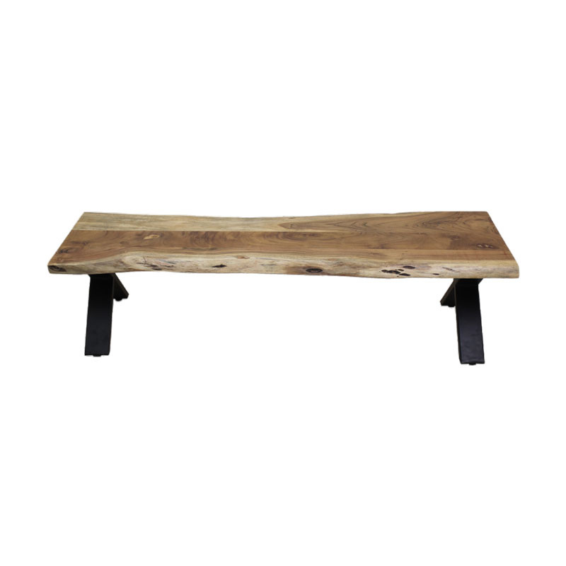 Acacia Wood Long Dining Bench