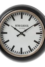 Hill Interiors Deep Rim Retro Clock
