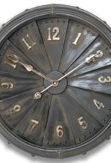 Industrial Iron Clock - 63 cm