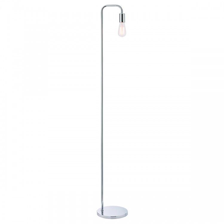Endon Rubens Floor Lamp Chrome