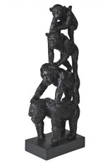 Evolution of Primates Statue