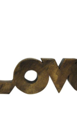 Wooden Word Love Art