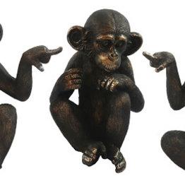 Set Of 3 Monkeys