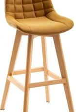 Seconique Brisbane Bar Chair Mustard - Pair