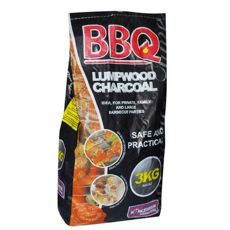 Kingfisher BBQ Lumpwood Charcoal 3KG