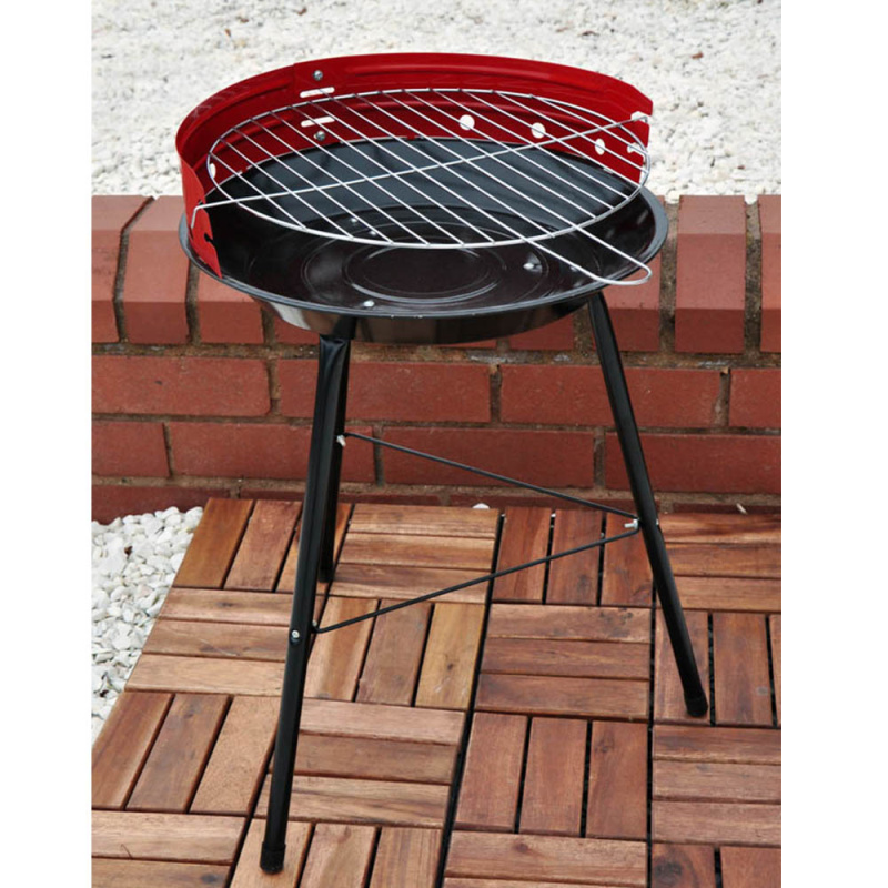 Kingfisher 14-inch Steel BBQ