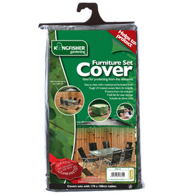 Kingfisher Rectangular Outdoor Furniture Set  Cover