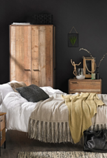 Industrial Chic Copper Bed