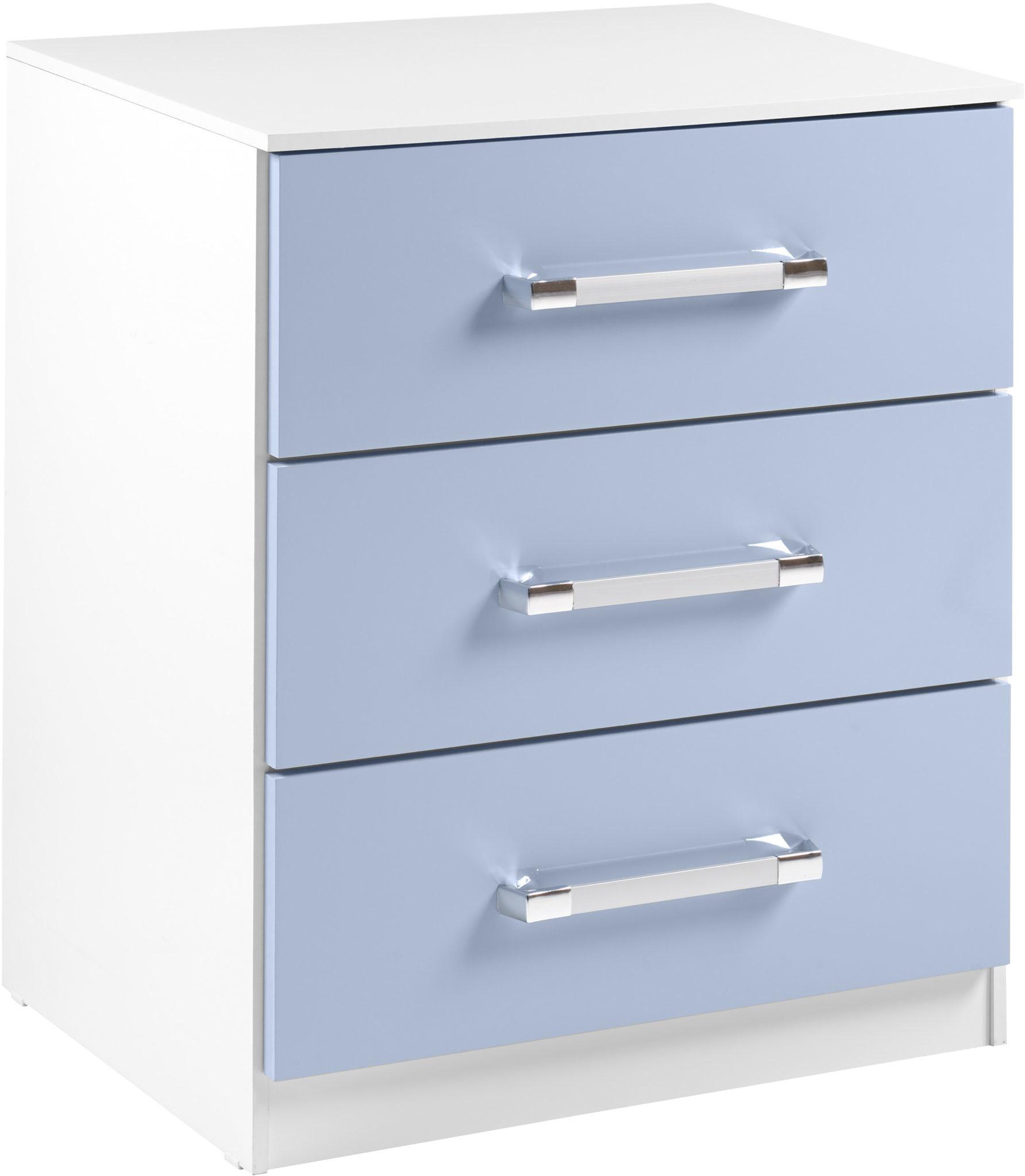 Seconique Jasper Bedroom Set -White & Blue