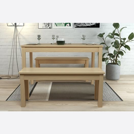 LPD Ohio Dining Bench Set