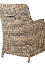 Outdoor Rattan Carver Chair