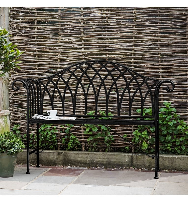 Gallery Duchess Outdoor Bench Noir