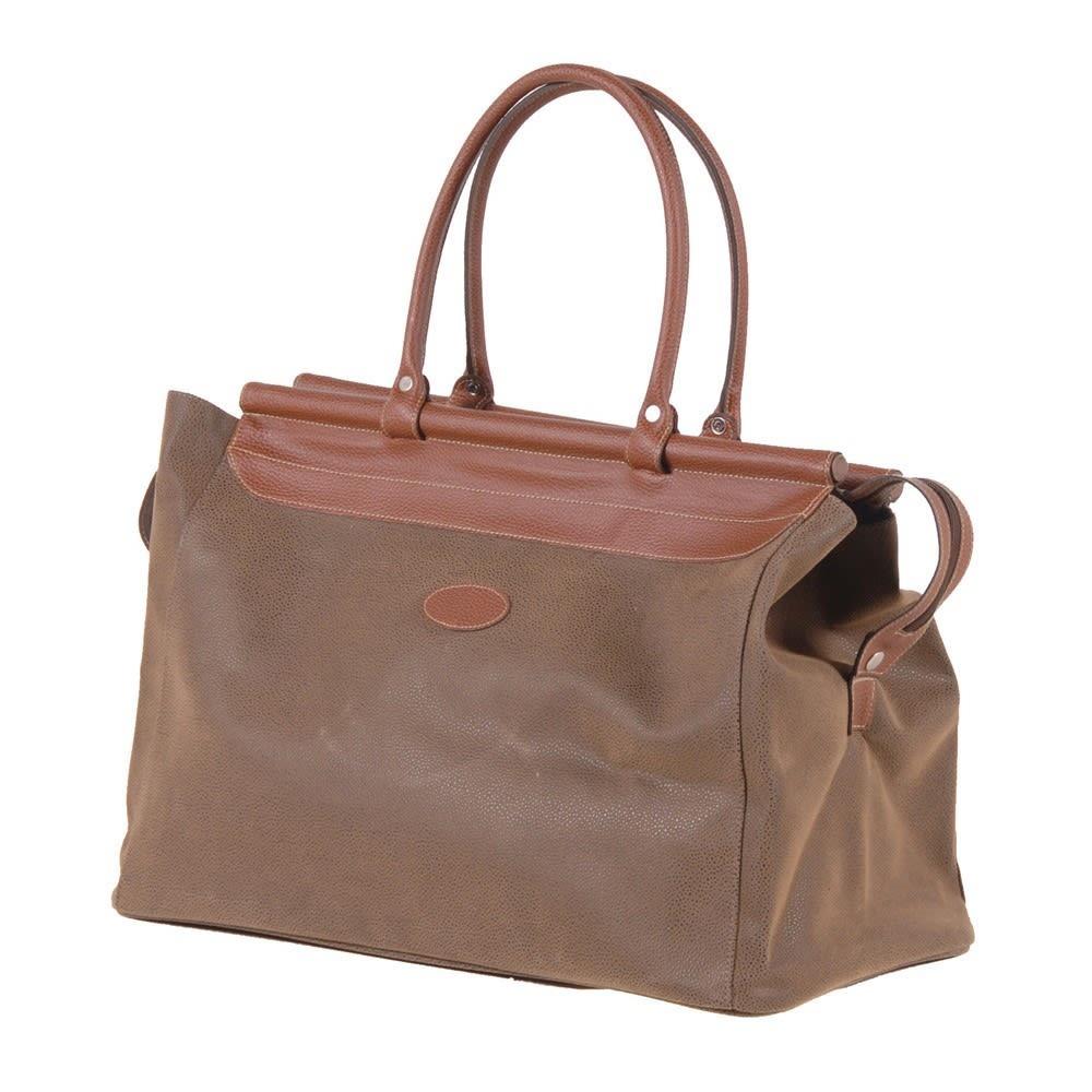 Brown Bag With Bar Top