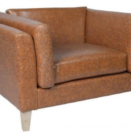 Besp-Oak Brown  Armchair