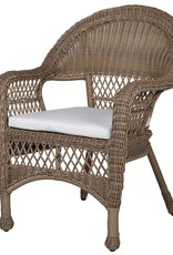 Wicker Garden Chair - Set of 6