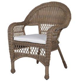 Wicker Garden Chair - Pair