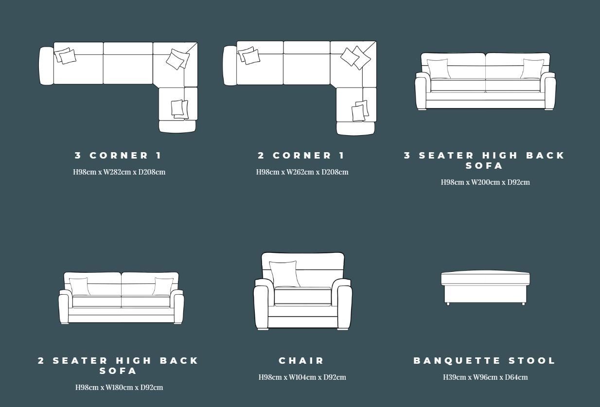Lebus Keaton Sofa Collection