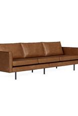 BePureHome Rodeo Cognac 3 Seater Sofa