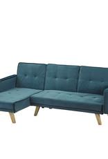 LPD Kitson Corner Sofa Bed - Velvet