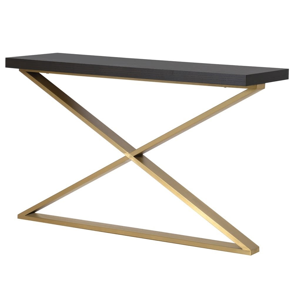 Modern X-Leg Console Table