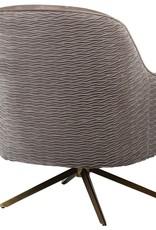 Gold Leg Swivel Chair