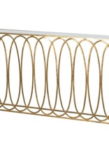 Oval Hoops Console Table