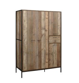 Urban 4 Door Wardrobe