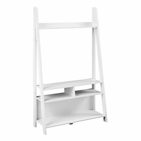 LPD Ladder TV Unit - White