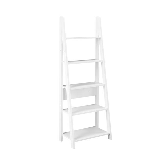 LPD Ladder Bookcase - White