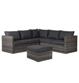 Outdoor L Shape Sofa Set